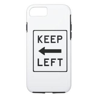 Keep Left Democratic Swag iPhone 8/7 Case