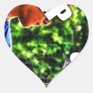 Keep Lifting Heart Sticker