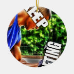 Keep Lifting Ornaments