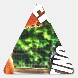 Keep Lifting Triangle Sticker