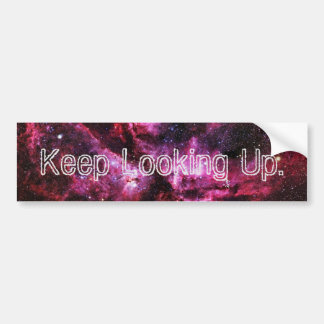 """""""Keep Looking Up"""" Bumper Stickers V"""
