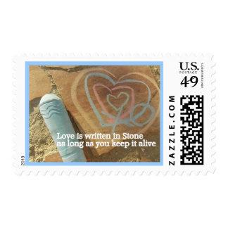Keep love alive Postage