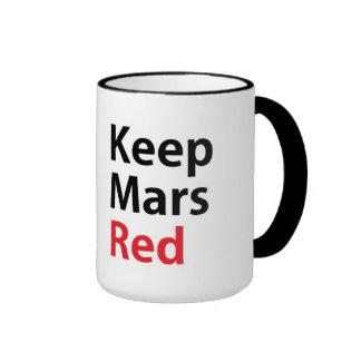 Keep Mars Red 15 oz Mug