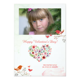 Keep Me In Your Heart Photo Valentine's Card