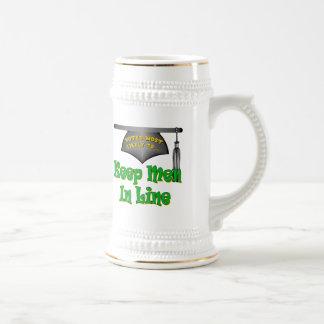 Keep Men In Line 18 Oz Beer Stein