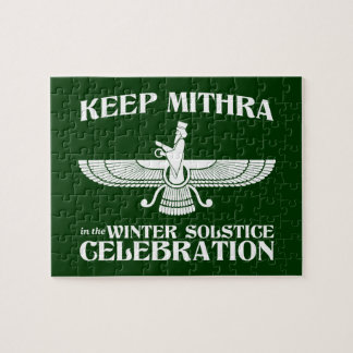 Keep Mithra in the Winter Solstice Celebration Puzzles