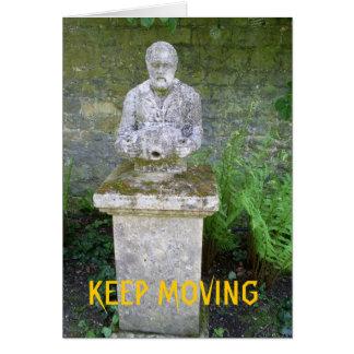 keep moving card