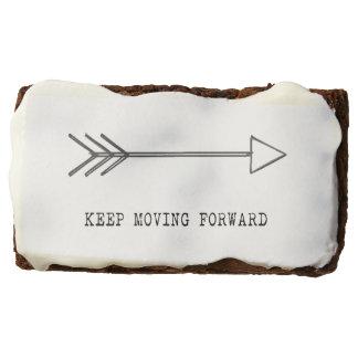 Keep Moving Forward Brownie