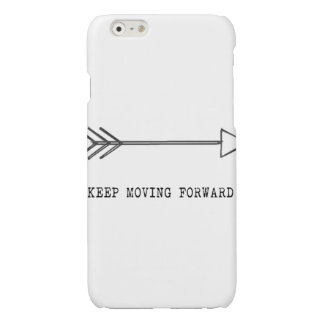 Keep Moving Forward Glossy iPhone 6 Case