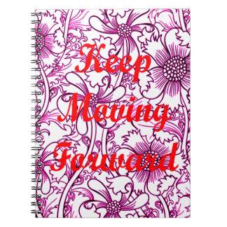 Keep Moving Forward Spiral Notebook