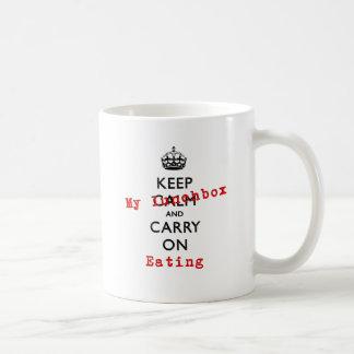 KEEP MY LUNCHBOX COFFEE MUG
