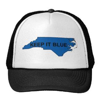 Keep North Carolina Blue Trucker Hat