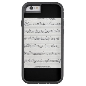 fabricatedframes Keep Of The Promise Sheet Music iphone 6 case