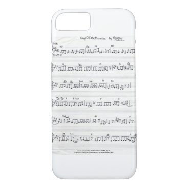fabricatedframes Keep Of The Promise Sheet Music iPhone 7 case bare