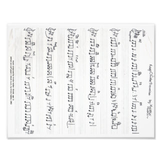 Keep Of The Promise Sheet Music photo print