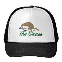 Keep Off Grass Trucker Hat