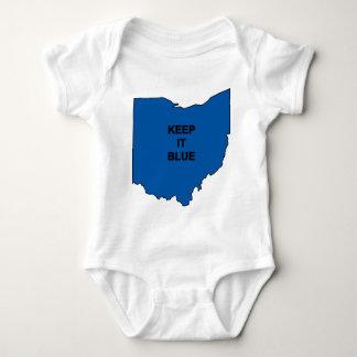 Keep Ohio Blue Baby Bodysuit