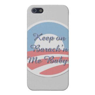 Keep On Barack 'n Me Baby smaller script Case For iPhone SE/5/5s