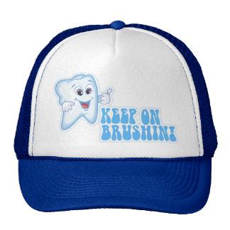Keep On Brushin! Mesh Hats