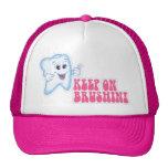 Keep On Brushing Trucker Hats
