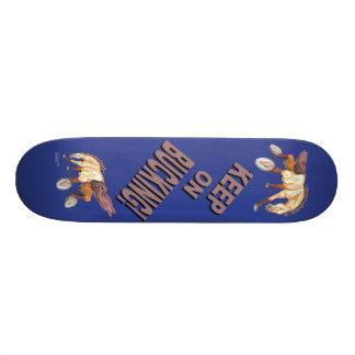Keep On Bucking Horse Skate Board Decks