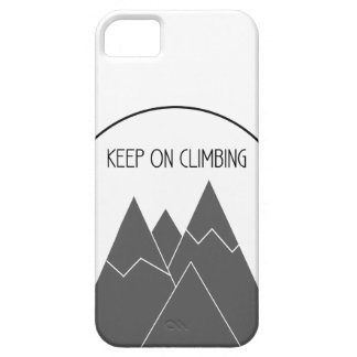 Keep On Climbing iPhone Case