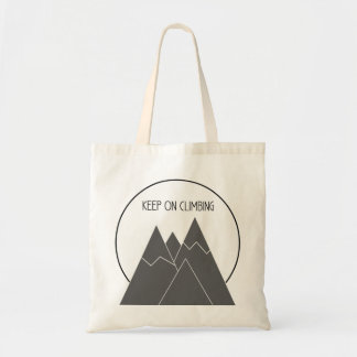 Keep On Climbing Tote Bag