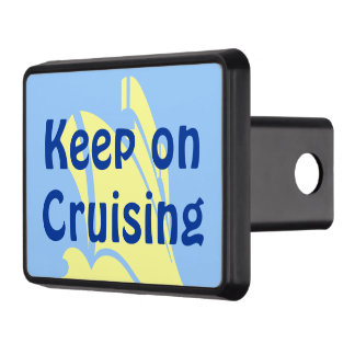 Keep on Cruising Yellow Hitch Covers