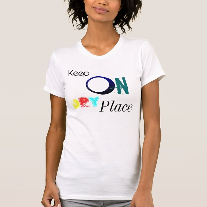 Keep on dry Place Ladies Performance Micro Fibre S T-Shirt