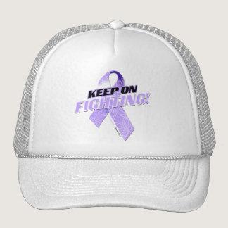 Keep on Fighting Alzheimer's Trucker Hat