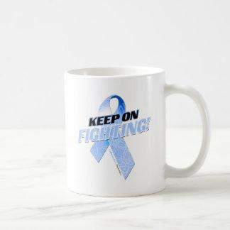 Keep on Fighting Colon Cancer Coffee Mug
