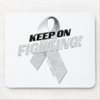 Keep on Fighting Diabetes Mouse Pad
