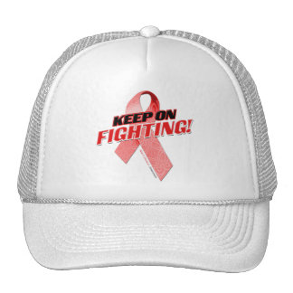 Keep on Fighting Heart Disease Trucker Hat