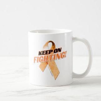 Keep on Fighting Leukemia Coffee Mug