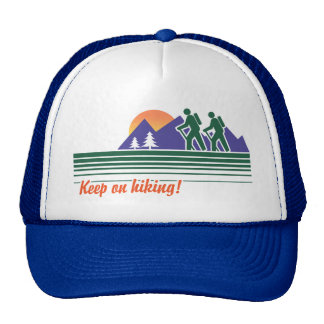 Keep on Hiking Trucker Hat