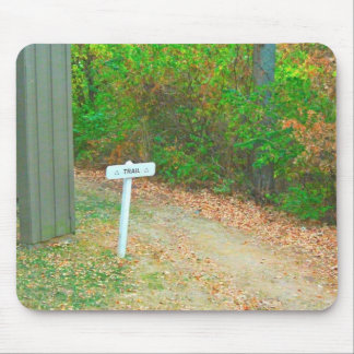 Keep On Hiking Mouse Pads