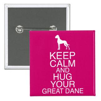 Keep on, Hug your Dane Button