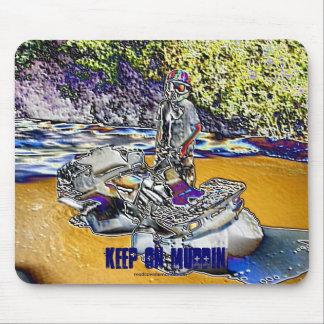 Keep on Muddin ATV - Customized Mouse Pad