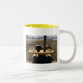 Keep On Pushing Two-Tone Coffee Mug
