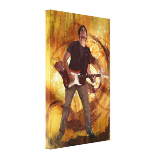 Keep On Rockin' Canvas Print