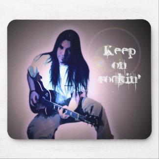 Keep on rockin' mouse pad