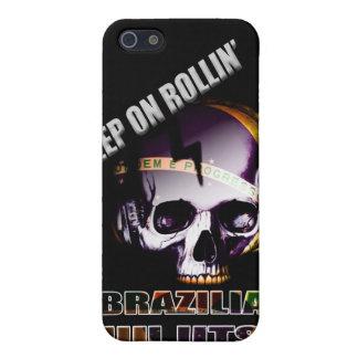 Keep on Rollin' BJJ Skull Iphone 4 Case