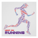 Keep on running posters
