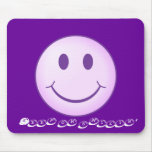 Keep on smilin' mouse mat