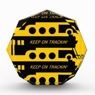 Keep on Trackin' By Train Award
