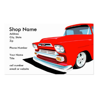 Keep On Truckin' Double-Sided Standard Business Cards (Pack Of 100)