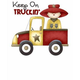 Keep On Truckin' T-Shirt shirt