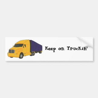 Keep on Truckin', truck on bumper stickers