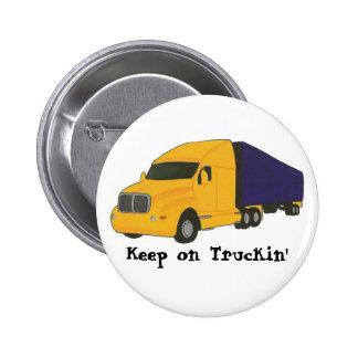 Keep on Truckin', truck on buttons