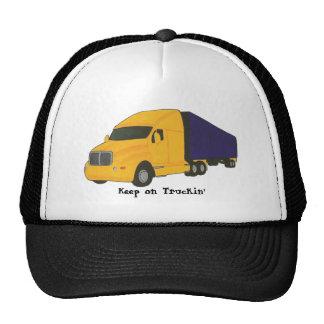 Keep on Truckin', truck on hats